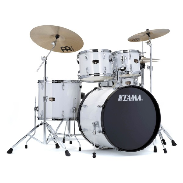 Tama Imperialstar 20'' 5pc Drum Kit, Sugar White