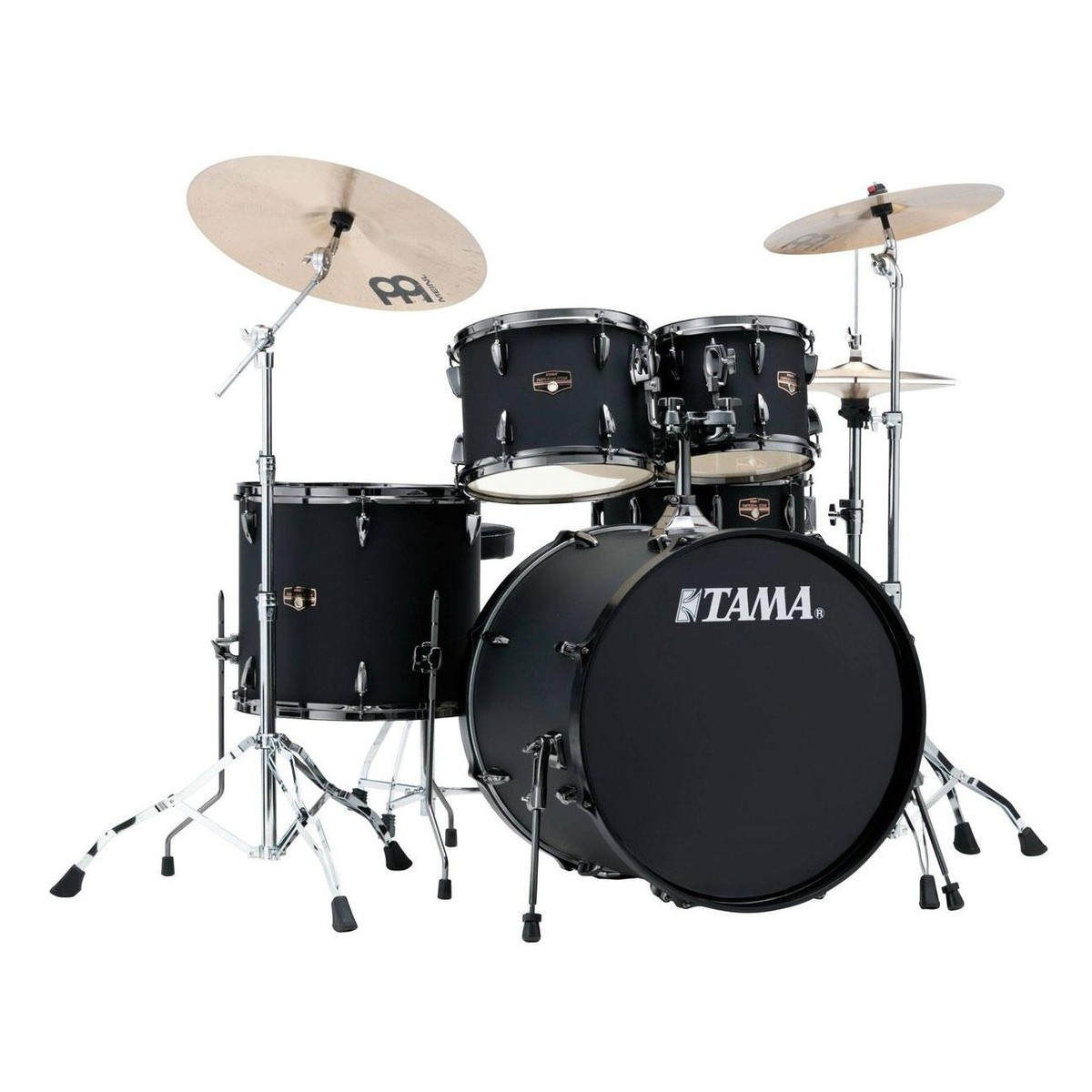 tama imperialstar 20 39 39 5pc drum kit blacked out black at gear4music. Black Bedroom Furniture Sets. Home Design Ideas