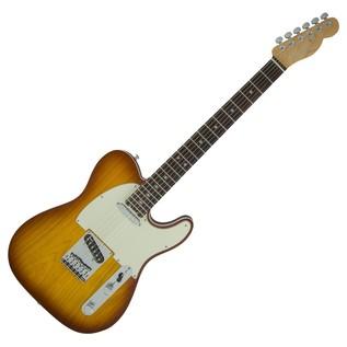 Fender American Elite Telecaster, Ebony, Tobacco Sunburst