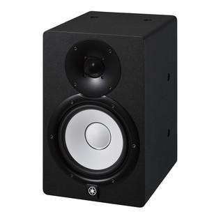 Yamaha HS7I Active Studio Monitor (Pair), Black - Angled Left