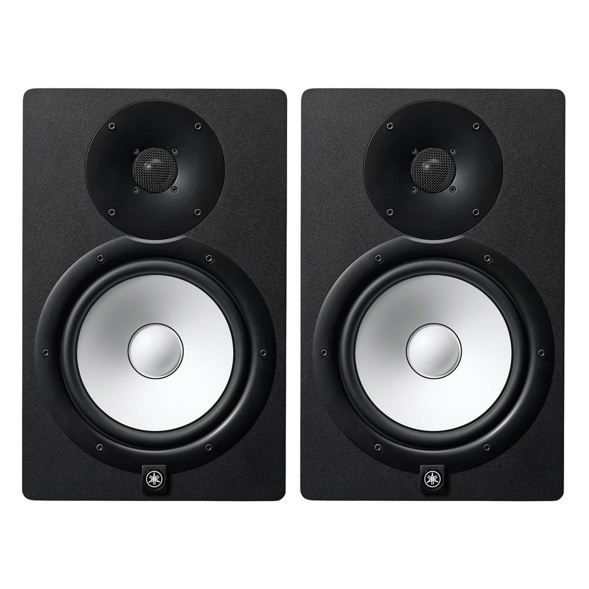 yamaha hs8i active studio monitor pair black at gear4music. Black Bedroom Furniture Sets. Home Design Ideas