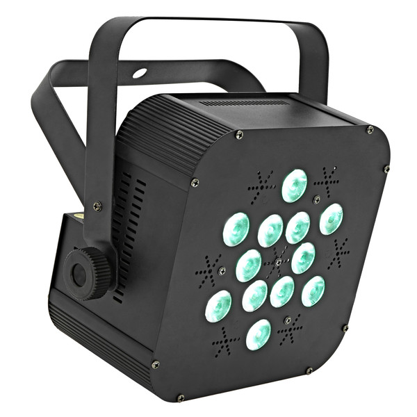 12 x 3w Flat LED Par Can by Gear4music