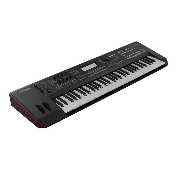 Yamaha MOXF6 Synthesizer Keyboard - Angled