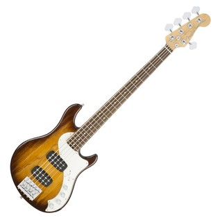 Fender American Elite Dimension Bass V HH, Ebony, Violin Burst