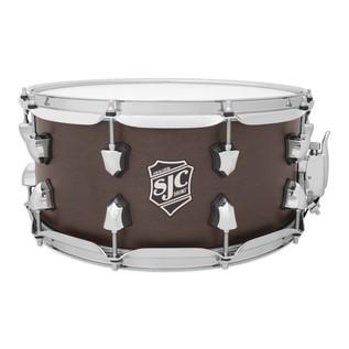 SJC Drums 14'' x 6.5'' Navigator Snare Drum, Midnight Espresso