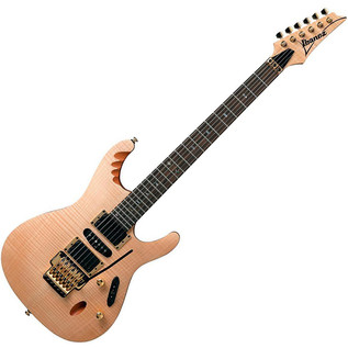 Ibanez EGEN 8, Herman Li Model, Platinum Blonde