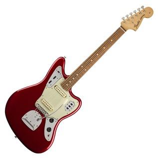 Fender Jaguar Classic Player Guitar, Pau Ferro, Candy Apple Red