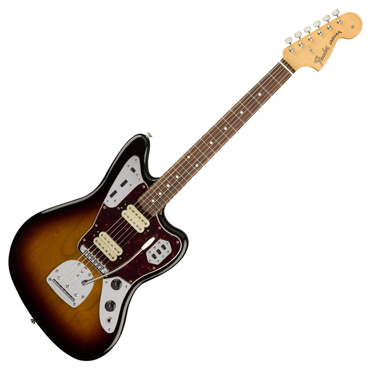 DISC Fender Classic Player Jaguar Special HH PF, 3 Tone Sunburst at  Gear4musicGear4music