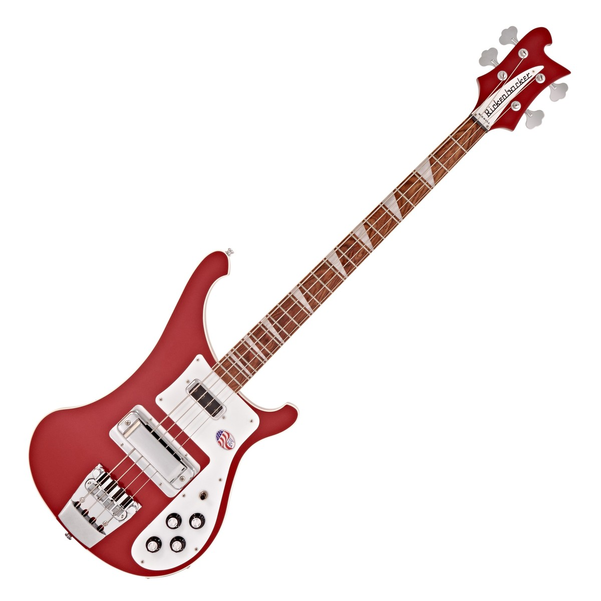 preview disc rickenbacker 4003 bass guitar, ruby red at gear4music