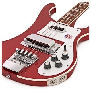 Rickenbacker 4003 Bass Guitar, Ruby Red