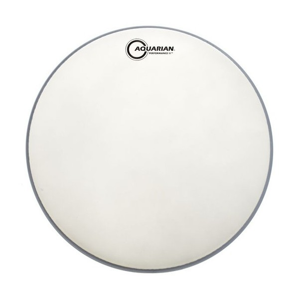 Aquarian Performance II Texture Coated 22'' Bass Drum Head with Glue