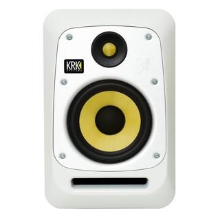 KRK V6S4 Studio Monitor, White - Front