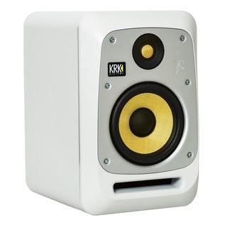KRK V6S4 Studio Monitor White - Angled