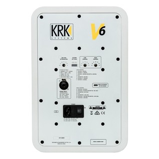KRK V6S4 Active Studio Monitor - Rear