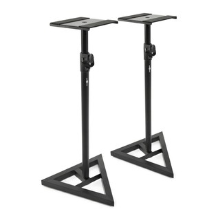 KRK V6S4 Studio Monitor, White (Pair) With Stands - Stands