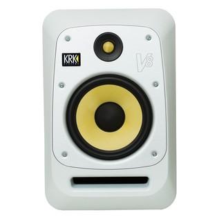 KRK V8S4 Studio Monitor White - Front