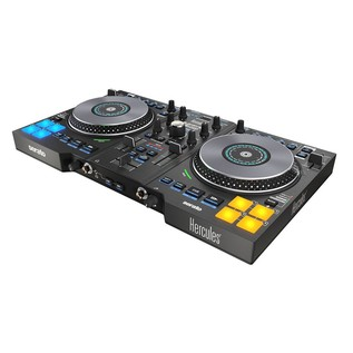 Hercules DJControl Jogvision Serato Controller - Angled
