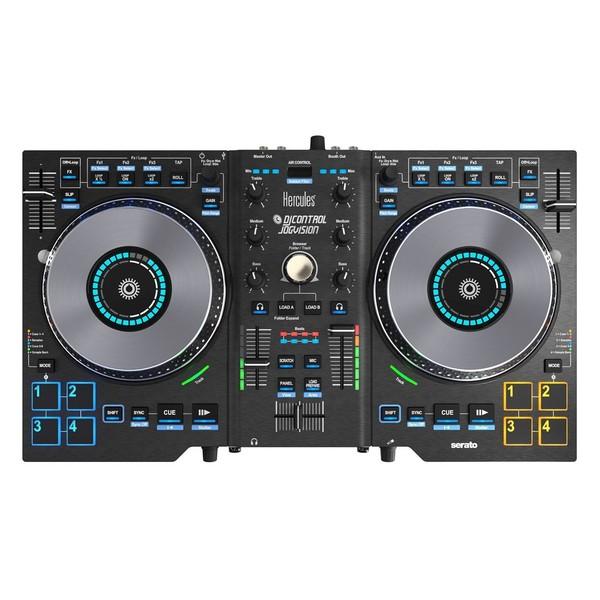 Hercules DJControl Jogvision Serato Controller - Top