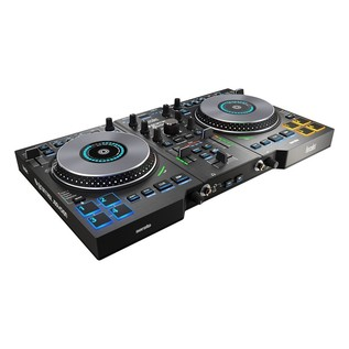 Hercules DJControl Jogvision Serato Controller - Angled 2