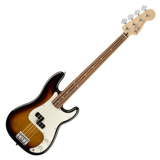 Fender Standard Precision Bass, Pau Ferro, Brown Sunburst
