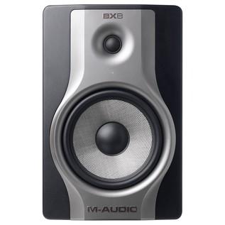 M-Audio BX8 Carbon Active Studio Monitor, Single - Front