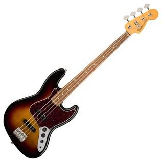 Fender Classic 60s Lacquer Jazz Bass, PW, 3-Tone Sunburst
