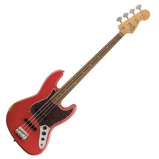 Fender Road Worn 60s Jazz Bass, Pau Ferro, Fiesta Red