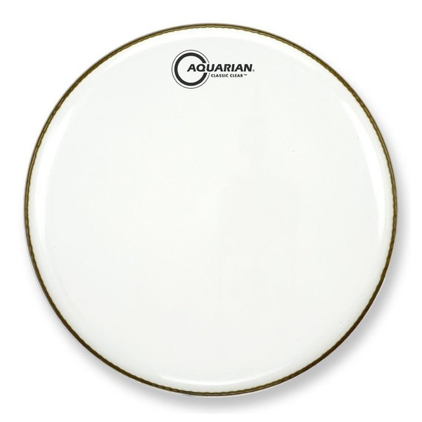 Aquarian Classic Clear White 20'' Bass Drum Head