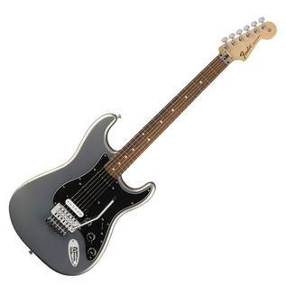 Fender Standard Strat HSS, Pau Ferro, Floyd Rose, Ghost Silver