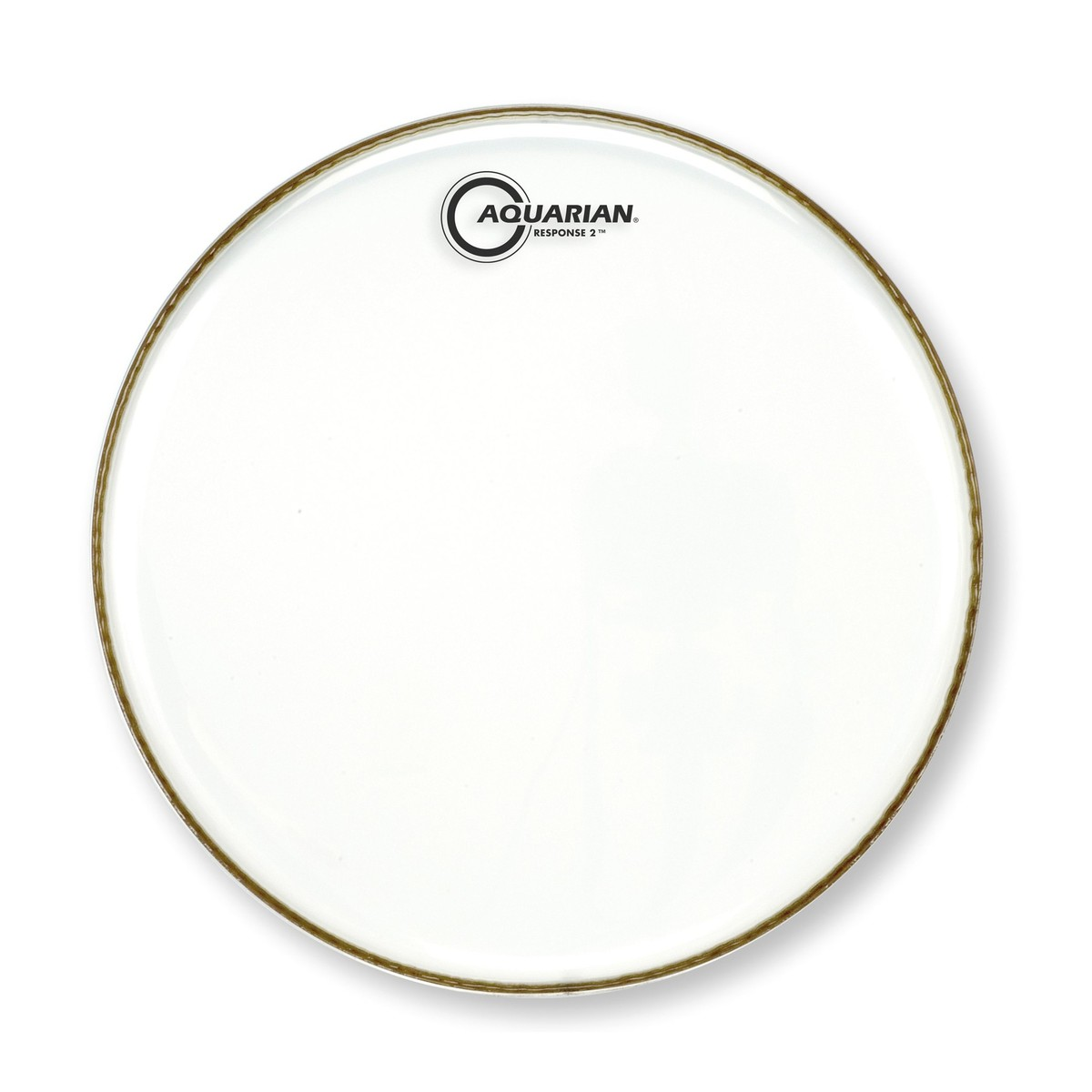 aquarian response 2 two ply 22 39 39 bass drum head at gear4music. Black Bedroom Furniture Sets. Home Design Ideas
