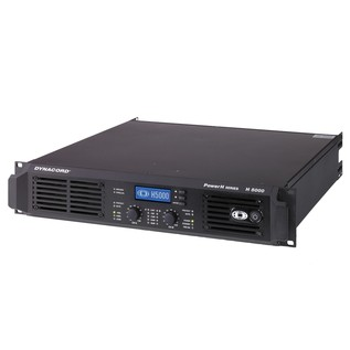 Dynacord H 5000 Remote Controllable Power Amp