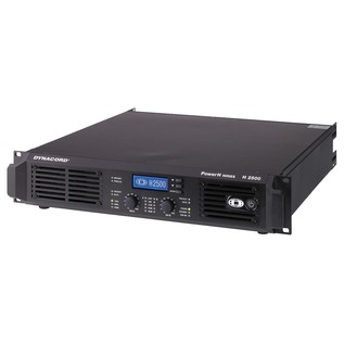 Dynacord POWERH 2500 Remote Controllable Power Amp