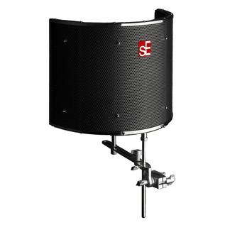 sE Electronics Reflexion Filter Pro, Black - Angled 2