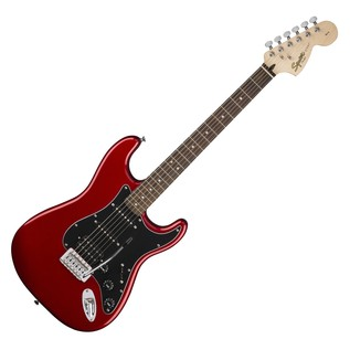 Fender Squier Affinity Series Stratocaster HSS Pack, Candy Apple Red 1