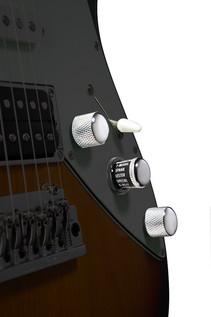 Line 6 JTV-69 James Tyler Variax Guitar In Lake Placid Blue - Controls