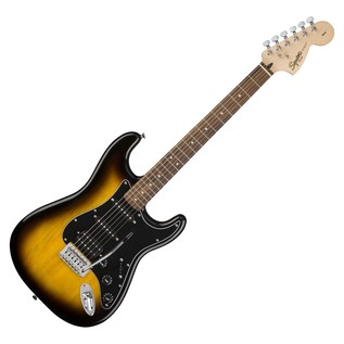 Fender Squier Affinity Series Stratocaster HSS Pack, Brown Sunburst 2