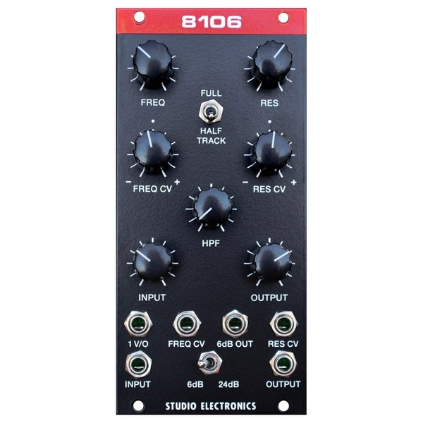 Studio Electronics 8106 Filter Module - Front