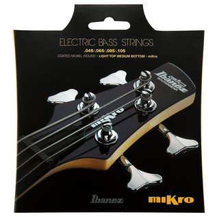Ibanez IEBS4CMK 4 Bass Guitar Strings, For Mikro Front