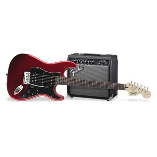 Fender Squier Affinity Series Stratocaster HSS Pack, Candy Apple Red Main