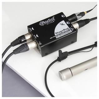 Radial StageBug SB-48 Phantom Power Supply - Box Opened