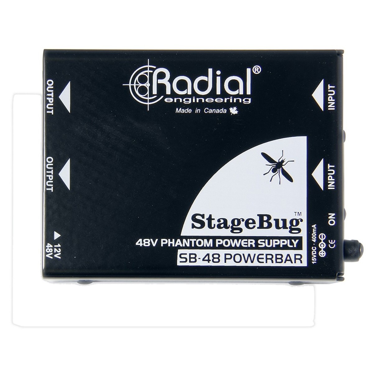 Click to view product details and reviews for Radial Stagebug Sb 48 Phantom Power Supply.