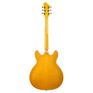 Hagstrom Super Viking Semi-Hollow Guitar, Yellow