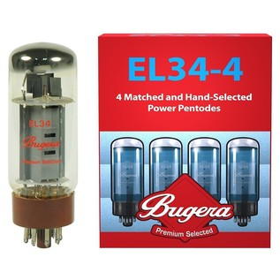 Bugera EL34, Pack of 4