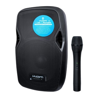 Kam RZ8A V3 Portable PA System with Microphone