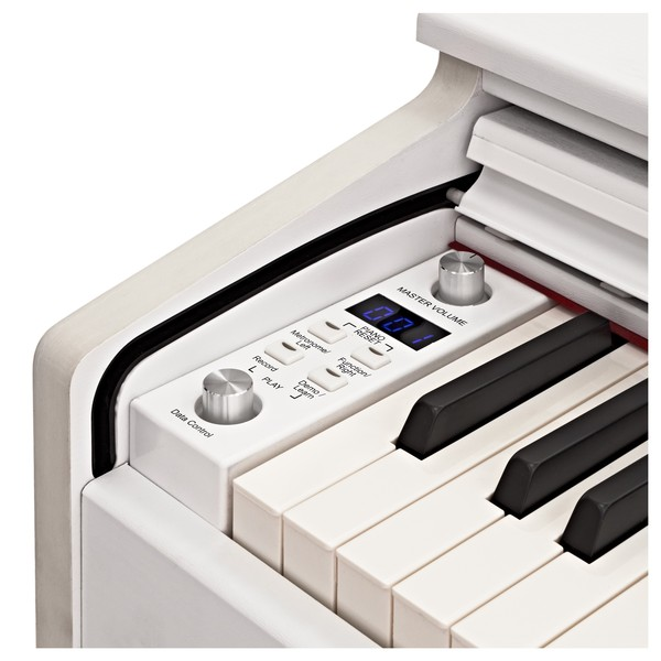 DP-10X Digital Piano by Gear4music, White