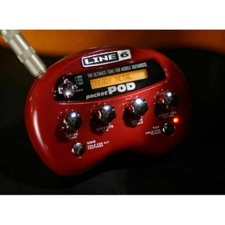 Line 6 Pocket POD Guitar Amp Processor