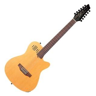 Godin A12 12 String Guitar Natural W/ Bag Front