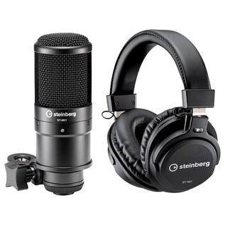 Steinberg UR22 MKII - Microphone & Headphones