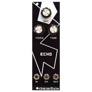 Dreadbox White Lines Euro Module - Echo - Front