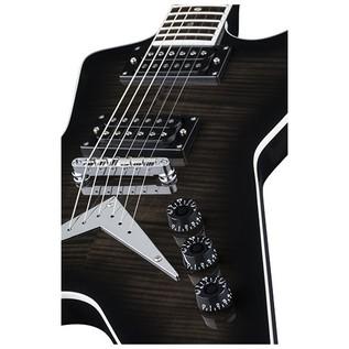 Dean ML 79 Electric Guitar, Trans Black 4